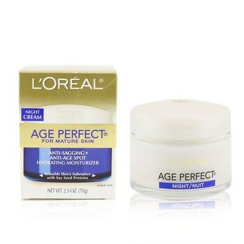 Купить Skin-Expertise Age Perfect Ночной Крем (для Зрелой Кожи) 70g/2.5oz, L'Oreal