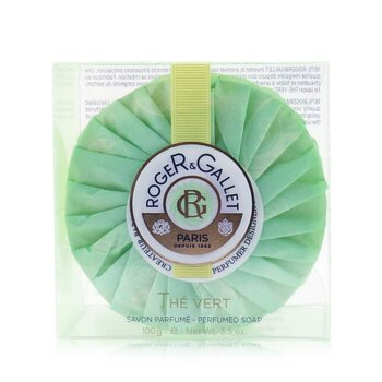 Roger & Gallet Green Tea (The Vert) Perfumed Soap (With Case) 100g/3.5oz
