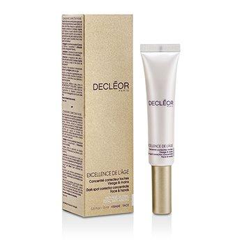 DecleorCorretivo Excellence De L'Age Dark Spot Concentrate p face & m�os  15ml/0.5oz