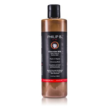 Philip B Chocolate Milk Body Wash & Bubble Bath 350ml/11.8oz
