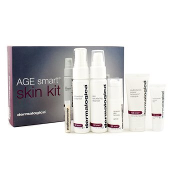 Dermalogica Age Smart Kit: Cleanser + Mist + Masque + Power Firm + MAP-15 + Day Cream SPF 30  6pcs