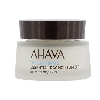 Ahava Time To Hydrate Essential Day Moisturizer (Very Dry Skin)  50ml/1.7oz