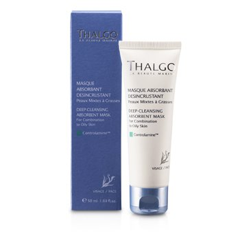 Thalgo Deep Cleansing Abosrbant Mask (Combination to Oily Skin)  50ml/1.69oz