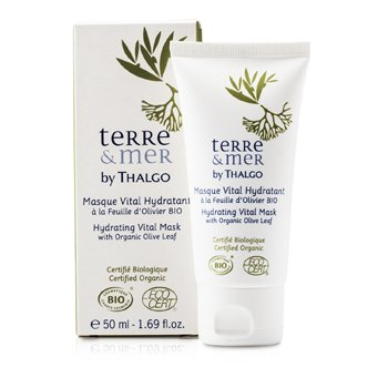 ThalgoTerre & Mer Hydrating Vital Mask With Organic Olive Leaf 50ml/1.69oz