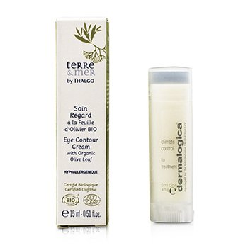 ThalgoTerre & Mer Eye Contour Cream With Organic Olive Leaf 15ml/0.51oz