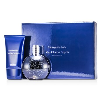 Van Cleef & Arpels Midnight In Paris Coffret: Eau De Toilette Spray 125ml/4.2oz + After Shave Balm 100ml/3.3oz  2pcs