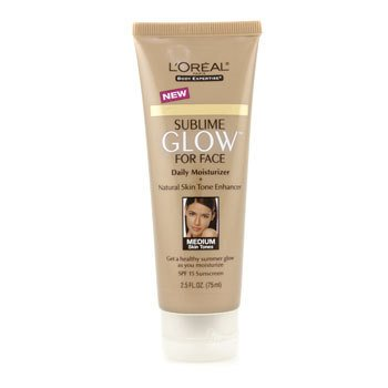L'Oreal Body Expertise Sublime Glow Daily Moisturizer SPF 15 (Medium Skin Tones)  75ml/2.5oz