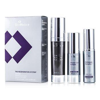 Skin MedicaTNS Regeneration ����:TNS Recovery ���� + Vitamin C+E���� + Tri-Retinol ���� 3pcs