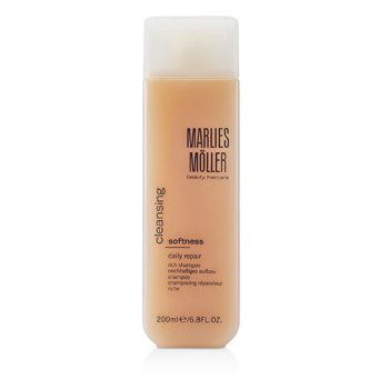 Marlies Moller Cleansing Softness Daily Repair Rich Shampoo  200ml/6.8oz