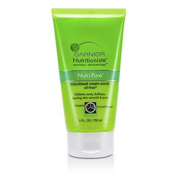Garnier Nutritioniste Nutri-Pure Microbead Cream Scrub (Oil-Free) 150ml/5oz