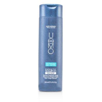 AlfaParfUomo Man Energetic Shampoo - Silver 200ml/6.76oz