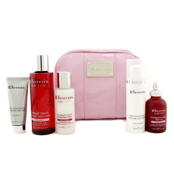ElemisSet Little Superstars Holiday : Crema Marine + Crema Limpiadora + Aceite Corporal + Gel de Ba�o + Elixir Ba�o 5pcs+1bag