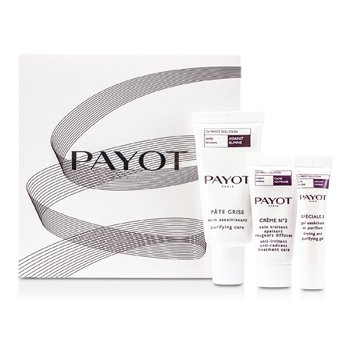 Night CareDr Payot Set: Pate Grise 15ml + Creme No 2 10ml + Special 5 5ml 3pcs