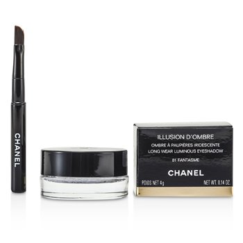 Chanel Sombra Illusion D'Ombre Long Wear Eyeshadow - # 81 Fantasme  4g/0.14oz