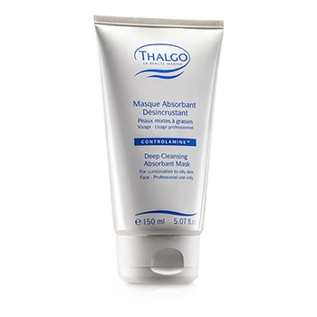 Thalgo Deep Cleansing Abosrbant Mask (Combination to Oily Skin) (Salon Size) 150ml/5.07oz