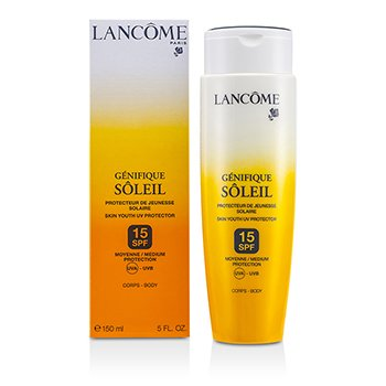 Lancome Genifique Soleil Skin Youth UV Protector SPF 15 UVA-UVB (For Body)  150ml/5oz