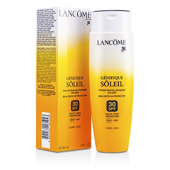 Lancome Genifique Soleil Da Trẻ H�a UV Bảo Vệ SPF 30 UVA-UVB (Cho Th�n Thể)  150ml/5oz