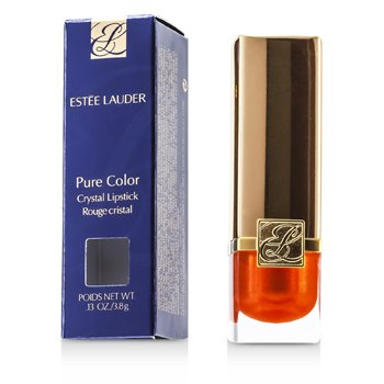 Estee Lauder New Pure Color Crystal Lipstick - # 08 Crystal Sun (Shimmer)  3.8g/0.13oz