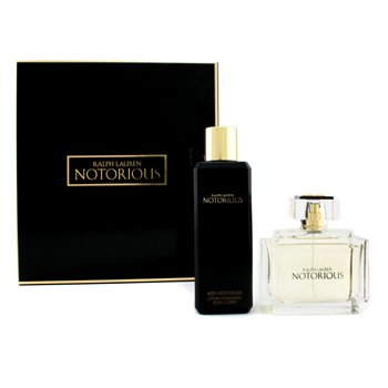 Ralph Lauren Notorious Coffret: Eau De Parfum Spray 75ml/2.5oz + Body Moisturizer 200ml/6.7oz  2pcs