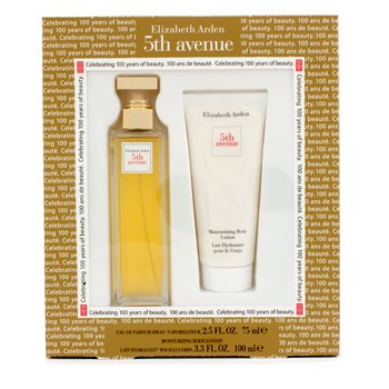 Elizabeth Arden Estuche 5th Avenue : Eau De Parfum Spray 75ml/2.5oz + Loci�n Corporal Hidratante 100ml/3.3oz  2pcs