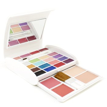 Make Up Kit AZ 2190 (16x Eyeshadow  2x Blusher  2x Compact Powder  4x Lipgloss  3x Applicator) - #02 Arezia Make Up Kit AZ 2190 (16x Eyeshadow  2x Blusher  2x C