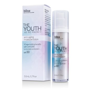BlissThe Youth As We Know It Anti-Aging Moisture Lotion SPF 30 50ml/1.7oz