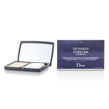 Christian Dior Diorskin Forever Compact Flawless Perfection Fusion Wear Makeup SPF 25 - #010 Ivory 10g/0.35oz