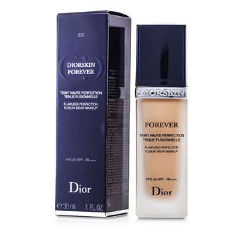 Christian Dior Diorskin Forever Flawless Perfection Fusion Wear Makeup SPF 25 - #020 Light Beige  30ml/1oz