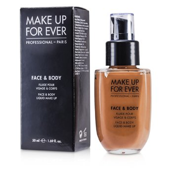 Make Up For Ever Face & Body Liquid Make Up - #24 (Golden Beige) 50ml/1.69oz