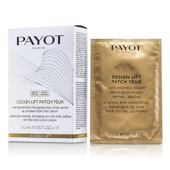 PayotMascara p/ os olhos Les Design Lift Design Lift Patch Yeux 10x1.5ml/0.05oz