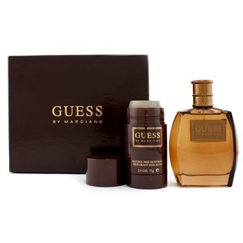 Guess Guess By Marciano Coffret: Eau De Toilette Spray 100ml/3.4oz + Desodorante en Barra 71g/2.5oz  2pcs