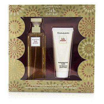Elizabeth Arden5th Avenue Coffret: Eau De Parfum Spray 125ml/4.2oz + Moisturizing Body Lotion 100ml/3.3oz 2pcs