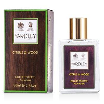 Yardley Citrus & Wood Eau De Toilette Spray 50ml/1.7oz