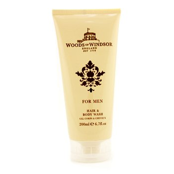 Woods Of Windsor Hair & Body Wash 200ml/6.7oz 12986137703