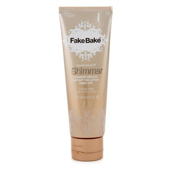 Fake Bake Golden Faux Glo Shimmer Medium Instant Tan Lotion  125ml/4.22oz
