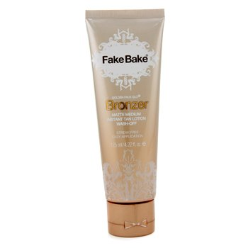 Fake Bake Golden Faux Glo Bronzer Instant Tan Lotion  125ml/4.22oz