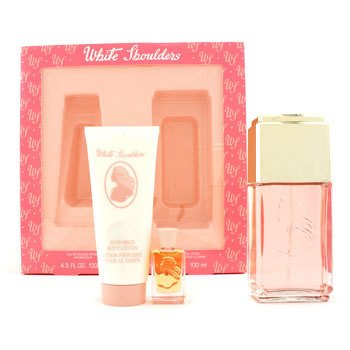 White Shoulders White Shoulders Coffret: Eau De Cologne Spray 133ml/4.5oz + Body Lotion 100ml/3.3oz + Parfum 7.5ml/0  3pcs