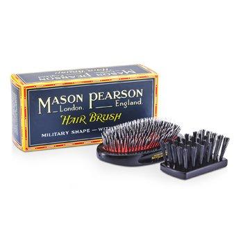 Mason Pearson Boar Bristle & Nylon - Medium Junior Military Nylon & Bristle Hair Brush - Cepillo duo Cabello ( Rub� oscuro )  1pc