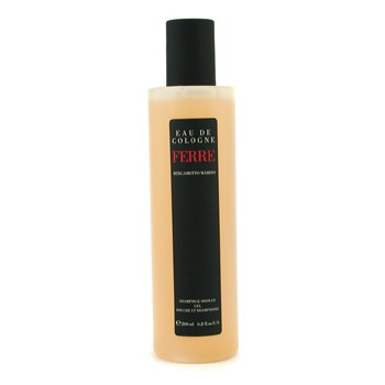 Gianfranco Ferre Ferre Eau De Cologne Shampoo & Shower Gel  200ml/6.8oz