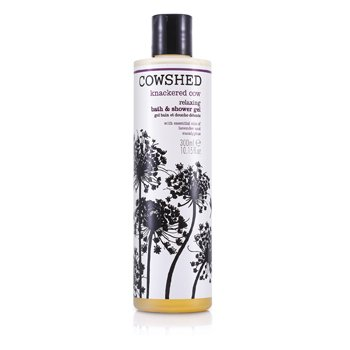 Cowshed Gel de banho Knackered Cow Relaxing Bath & Shower Gel  300ml/10.15oz