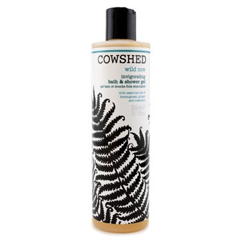 Cowshed Gel de banho Wild Cow Invigorating Bath & Shower Gel  300ml/10.15oz