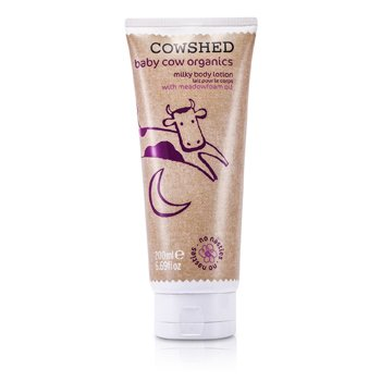 CowshedBaby Cow Organics Milky Body Lotion 200ml/6.76oz