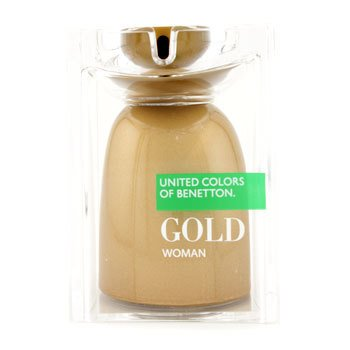 Benetton Gold Eau De Toilette Spray  75ml/2.5oz
