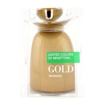 Benetton Gold Eau De Toilette Spray  75ml/2.5oz