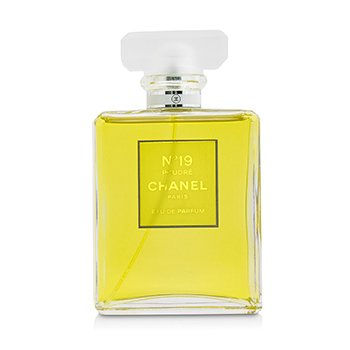Chanel No.19 Poudre Eau De Parfum Semprot  100ml/3.4oz