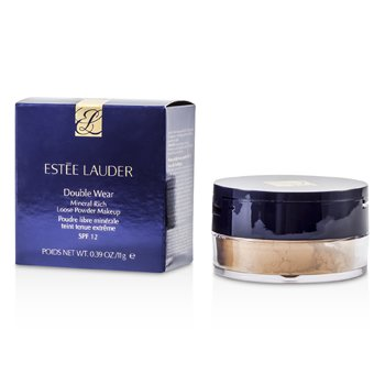 Estee LauderDouble Wear Mineral Rich Stay In Place Loose Powder Makeup SPF 12 - Intensity 4.0 11g/0.39oz