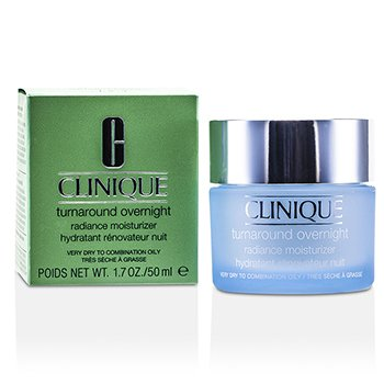 CliniqueTurnaround Overnight Radiance Moisturizer (Very Dry To Combination Oily) 50ml/1.7oz