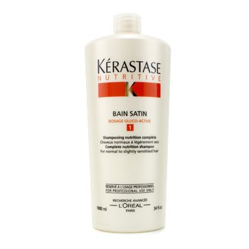 KerastaseNutritive Bain Satin 1 Champ� ( Cabello Normal y Sin energ�a ) 1000ml/34oz