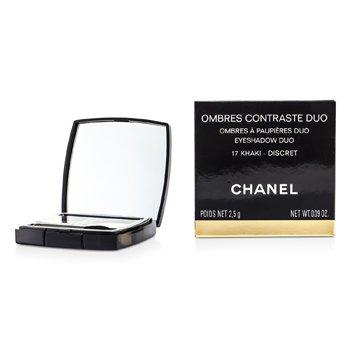 Chanel M�u �i Ombres Contraste - # 17 Khaki/ Discret  2.5g/0.09oz