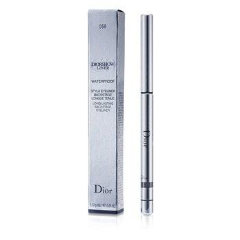 Christian Dior Diorshow Liner Waterproof Long Lasting Backstage Eyeliner - # 058 Slate  0.3g/0.01oz